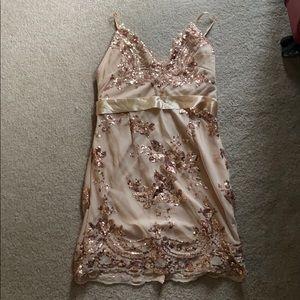 Shein Sequin Dress